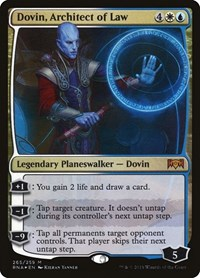 Dovin, Architect of Law, Magic: The Gathering, Ravnica Allegiance