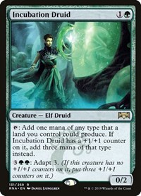 Incubation Druid, Magic: The Gathering, Ravnica Allegiance