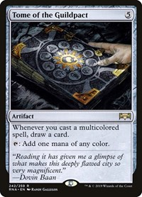 Tome of the Guildpact, Magic: The Gathering, Ravnica Allegiance