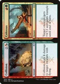Collision // Colossus, Magic: The Gathering, Ravnica Allegiance