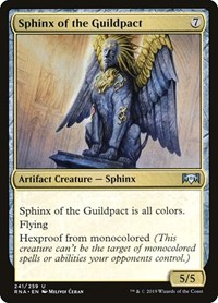 Sphinx of the Guildpact, Magic: The Gathering, Ravnica Allegiance