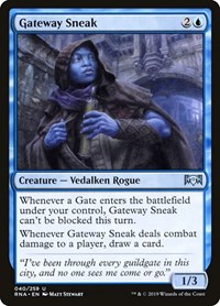 Gateway Sneak, Magic: The Gathering, Ravnica Allegiance