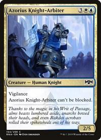 Azorius Knight-Arbiter, Magic: The Gathering, Ravnica Allegiance