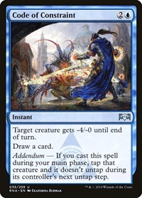 Code of Constraint, Magic: The Gathering, Ravnica Allegiance