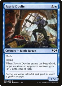 Faerie Duelist, Magic: The Gathering, Ravnica Allegiance