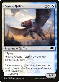 Senate Griffin, Magic, Ravnica Allegiance