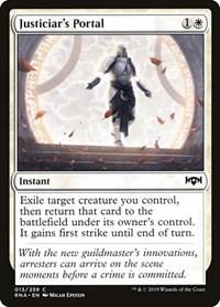 Justiciar's Portal, Magic, Ravnica Allegiance