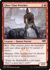 Ghor-Clan Wrecker, Magic: The Gathering, Ravnica Allegiance