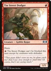 Tin Street Dodger, Magic, Ravnica Allegiance