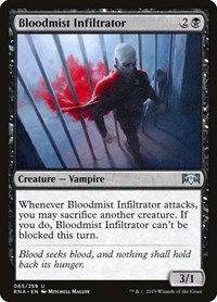 Bloodmist Infiltrator, Magic: The Gathering, Ravnica Allegiance