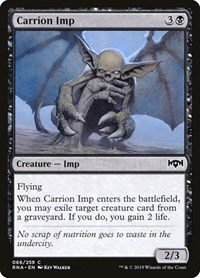 Carrion Imp, Magic: The Gathering, Ravnica Allegiance