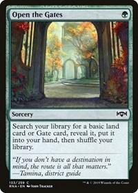 Gates Ablaze MTG RAVNICA ALLEGIANCE