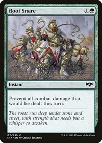Root Snare, Magic, Ravnica Allegiance