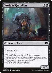 Noxious Groodion, Magic: The Gathering, Ravnica Allegiance