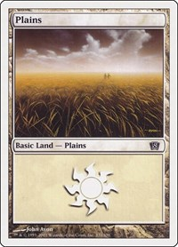 Plains (331), Magic: The Gathering, 8th Edition