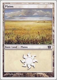 Plains (332), Magic: The Gathering, 8th Edition