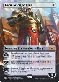 Karn, Scion of Urza, Magic: The Gathering, Mythic Edition: Ravnica Allegiance