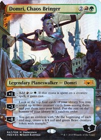 Domri, Chaos Bringer, Magic, Mythic Edition: Ravnica Allegiance