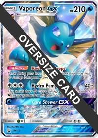 Vaporeon GX - SM172 (SM Black Star Promo), Pokemon, Jumbo Cards