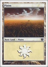 Plains (331), Magic: The Gathering, 9th Edition