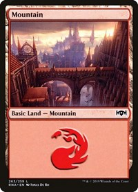 Mountain, Magic: The Gathering, Ravnica Allegiance