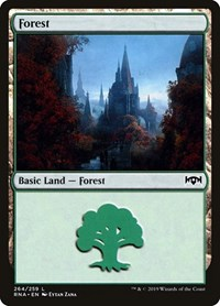 Forest, Magic: The Gathering, Ravnica Allegiance