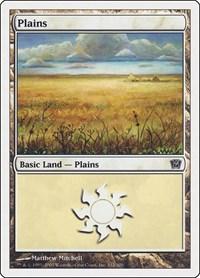 Plains (332), Magic: The Gathering, 9th Edition