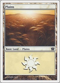 Plains (333), Magic: The Gathering, 9th Edition