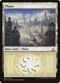 Plains (26), Magic: The Gathering, Ravnica Allegiance: Guild Kits