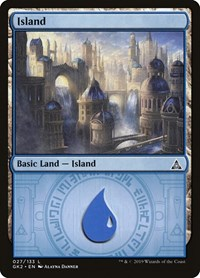 Island (27), Magic: The Gathering, Ravnica Allegiance: Guild Kits