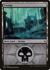 Swamp (51), Magic: The Gathering, Ravnica Allegiance: Guild Kits