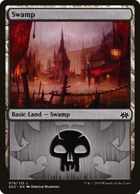 Swamp (78), Magic: The Gathering, Ravnica Allegiance: Guild Kits