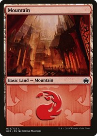 Mountain (79), Magic: The Gathering, Ravnica Allegiance: Guild Kits