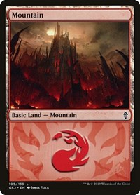 Mountain (105), Magic: The Gathering, Ravnica Allegiance: Guild Kits
