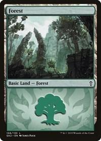 Forest (106), Magic: The Gathering, Ravnica Allegiance: Guild Kits
