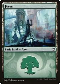 Forest (133), Magic: The Gathering, Ravnica Allegiance: Guild Kits