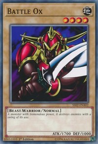 Battle Ox, YuGiOh, Speed Duel Decks: Duelists of Tomorrow