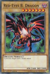 Red-Eyes B. Dragon, YuGiOh, Speed Duel Decks: Duelists of Tomorrow