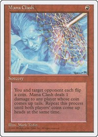 Mana Clash, Magic: The Gathering, Fourth Edition
