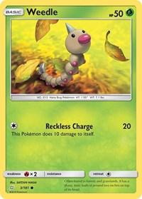 Weedle (3), Pokemon, SM - Team Up
