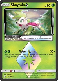 Shaymin Prism Star, Pokemon, SM - Team Up