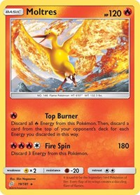 Moltres, Pokemon, SM - Team Up