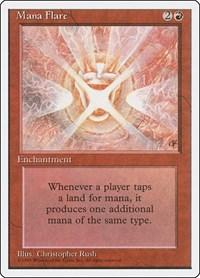Mana Flare, Magic: The Gathering, Fourth Edition