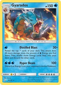 Gyarados, Pokemon, SM - Team Up