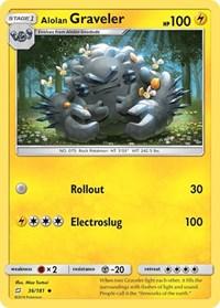 Alolan Graveler, Pokemon, SM - Team Up