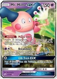 Mr. Mime GX, Pokemon, SM - Team Up