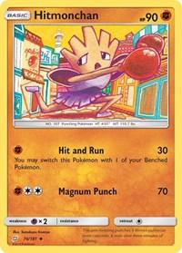 Hitmonchan, Pokemon, SM - Team Up
