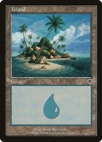 Island (335), Magic: The Gathering, Invasion