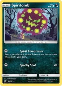 Spiritomb, Pokemon, SM - Team Up