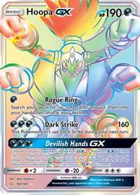 Hoopa GX (Secret), Pokemon, SM - Team Up